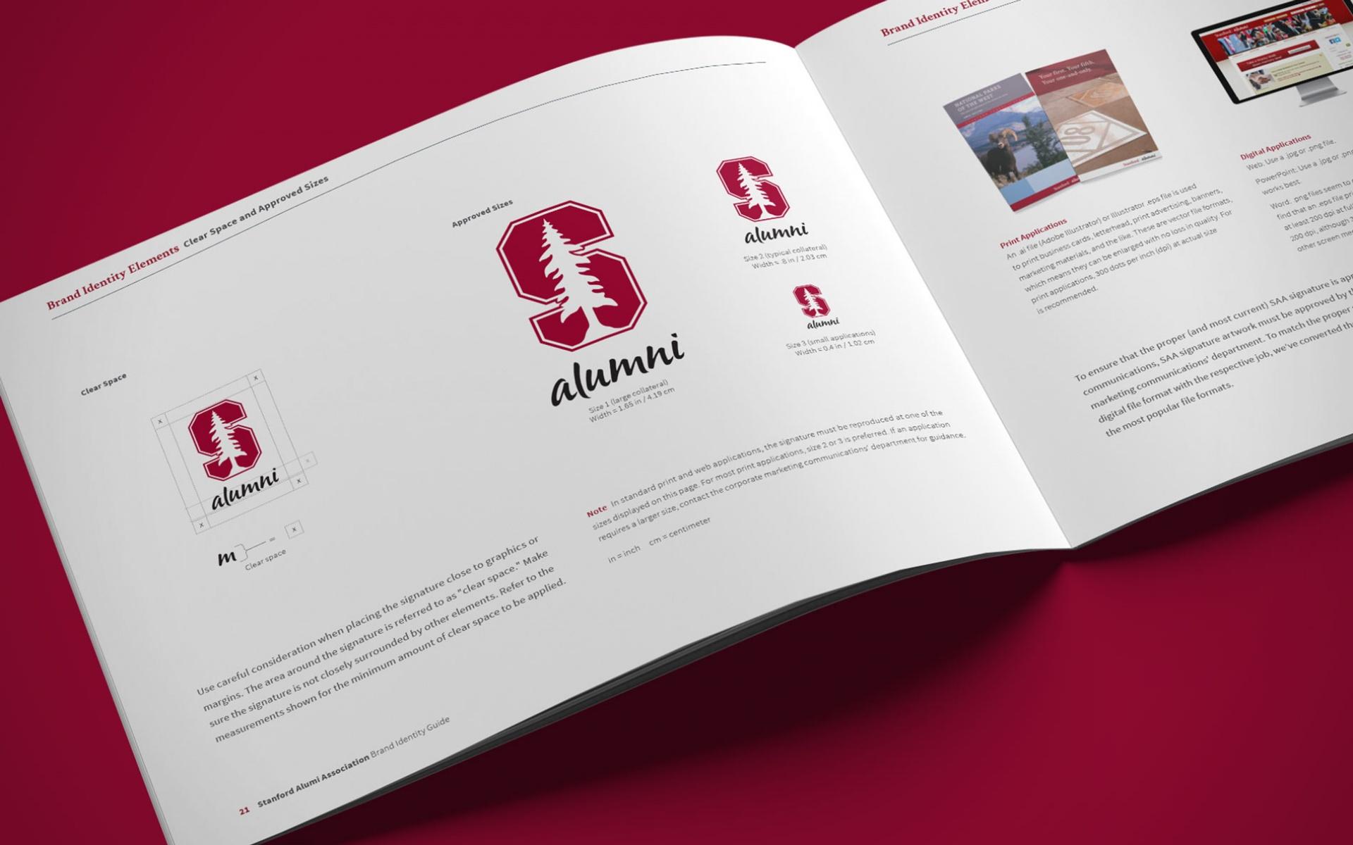 Education Brand Refresh Standford Univeersity Alumni Association ...